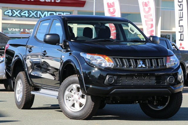 New Mitsubishi Triton MQ MY18 GLX+ Double Cab, 2018 Mitsubishi Triton MQ MY18 GLX+ Double Cab Pitch Black 5 Speed Sports Automatic Utility