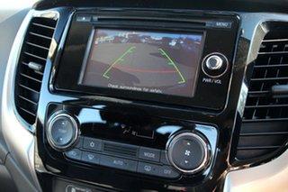 2018 Mitsubishi Triton MQ MY18 GLX+ Double Cab Pitch Black 5 Speed Sports Automatic Utility