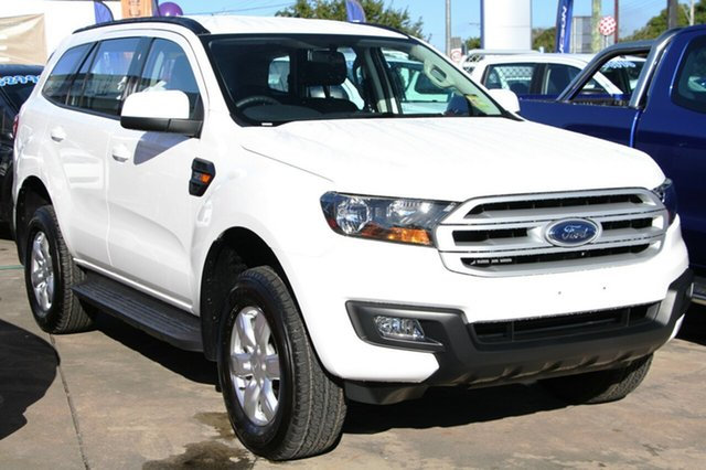New Ford Everest UA Ambiente 4WD, 2017 Ford Everest UA Ambiente 4WD Arctic White 6 Speed Sports Automatic Wagon