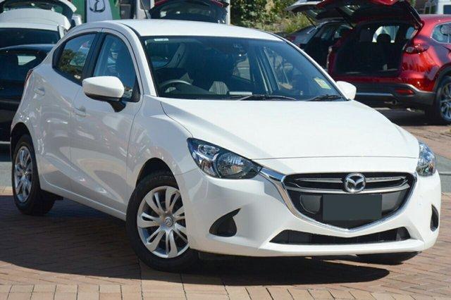New Mazda 2 DJ2HAA Neo SKYACTIV-Drive, 2019 Mazda 2 DJ2HAA Neo SKYACTIV-Drive White Pearl 6 Speed Sports Automatic Hatchback