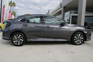 2018 Honda Civic 10th Gen MY18 VTi-S Modern Steel 1 Speed Constant Variable Hatchback.
