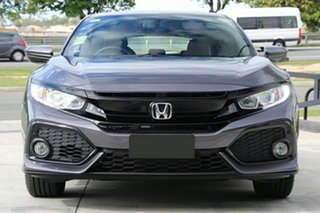 2018 Honda Civic 10th Gen MY18 VTi-S Modern Steel 1 Speed Constant Variable Hatchback