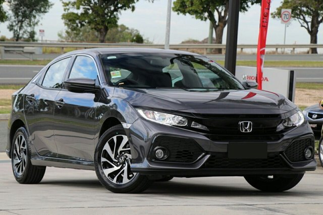 New Honda Civic 10th Gen MY20 VTi-S, 2019 Honda Civic 10th Gen MY20 VTi-S Modern Steel 1 Speed Constant Variable Hatchback