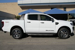 2017 Ford Ranger PX MkII MY18 Wildtrak Double Cab Frozen White 6 Speed Sports Automatic Utility
