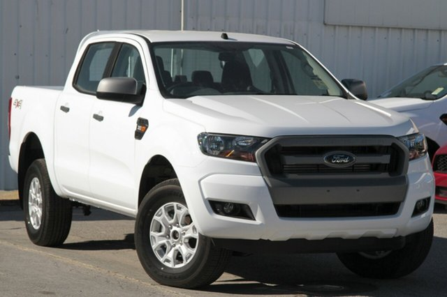 New Ford Ranger PX MkII XLS Double Cab, 2017 Ford Ranger PX MkII XLS Double Cab Frozen White 6 Speed Sports Automatic Utility