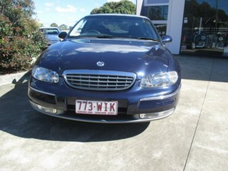 2001 Holden Statesman WH Blue Metallic Automatic Sedan