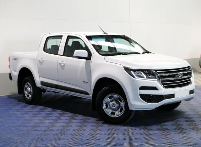 Used Holden Colorado RG MY17 LS Pickup Crew Cab, 2017 Holden Colorado RG MY17 LS Pickup Crew Cab Summit White 6 Speed Manual Utility