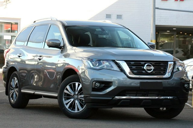 New Nissan Pathfinder  ST-L X-tronic 2WD, 2017 Nissan Pathfinder R52 Series II M ST-L X-tronic 2WD Gun Metallic 1 Speed Constant Variable