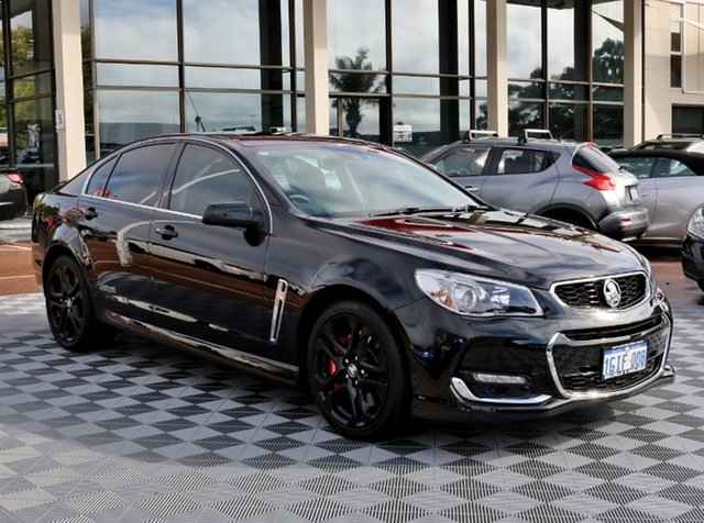 Used Holden Commodore VF II MY16 SS V Redline, 2015 Holden Commodore VF II MY16 SS V Redline Black 6 Speed Sports Automatic Sedan