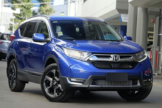New Honda CR-V RW MY19 VTi-LX 4WD, 2019 Honda CR-V RW MY19 VTi-LX 4WD Blue 1 Speed Constant Variable Wagon