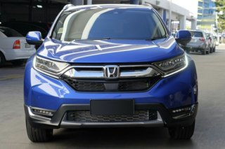 2020 Honda CR-V RW MY20 VTi-LX 4WD Blue 1 Speed Constant Variable Wagon