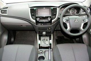 2018 Mitsubishi Triton MQ MY18 GLS (4x4) Sterling Silver 5 Speed Automatic Dual Cab Utility