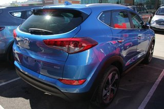 2017 Hyundai Tucson TLe MY17 Elite AWD Ara Blue 6 Speed Sports Automatic Wagon.