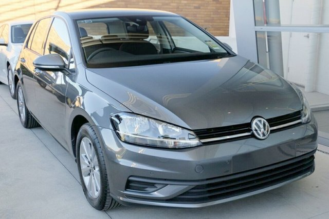 New Volkswagen Golf 7.5 MY17 110TSI DSG Trendline, 2017 Volkswagen Golf 7.5 MY17 110TSI DSG Trendline Indium Grey 7 Speed Sports Automatic Dual Clutch