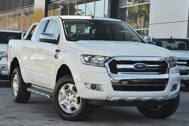 New Ford Ranger PX MkII MY18 XLT Super Cab, 2018 Ford Ranger PX MkII MY18 XLT Super Cab Cool White 6 Speed Sports Automatic Utility