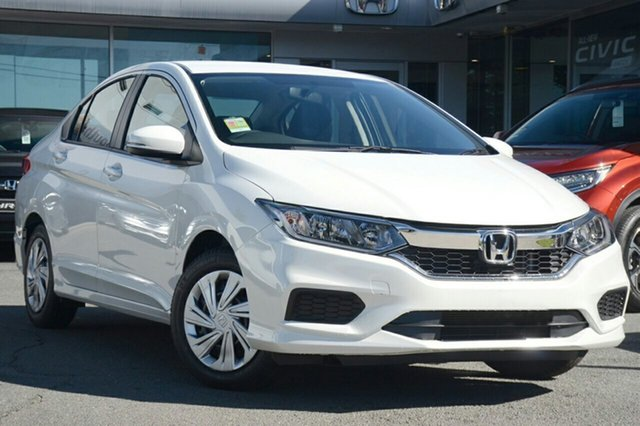 New Honda City GM MY19 VTi, 2018 Honda City GM MY19 VTi White Orchid 1 Speed Constant Variable Sedan