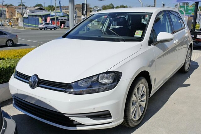 New Volkswagen Golf 7.5 MY19 110TSI DSG Trendline, 2018 Volkswagen Golf 7.5 MY19 110TSI DSG Trendline Pure White 7 Speed Sports Automatic Dual Clutch