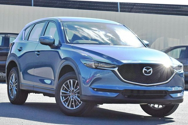 New Mazda CX-5 KF2W7A Maxx SKYACTIV-Drive FWD Sport Hillcrest, 2020 Mazda CX-5 KF2W7A Maxx SKYACTIV-Drive FWD Sport Eternal Blue 6 Speed Sports Automatic Wagon