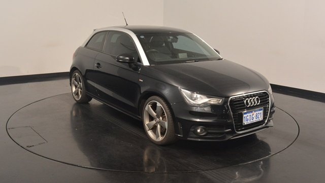 Used Audi A1 8X MY12 Sport S tronic, 2012 Audi A1 8X MY12 Sport S tronic Black 7 Speed Sports Automatic Dual Clutch Hatchback