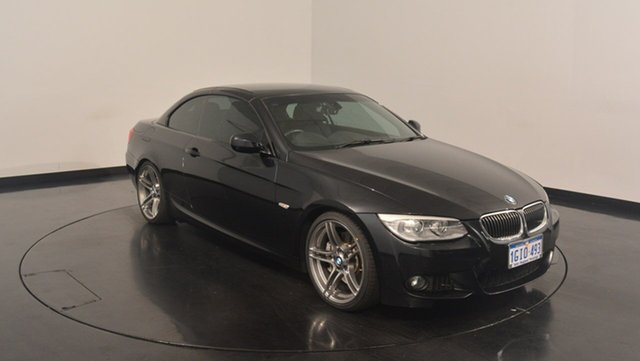 Used BMW 335i E93 MY1112 M Sport D-CT, 2013 BMW 335i E93 MY1112 M Sport D-CT Black 7 Speed Sports Automatic Dual Clutch Convertible