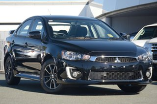 2017 Mitsubishi Lancer CF MY17 ES Sport Black 6 Speed Constant Variable Sedan.