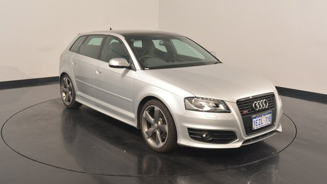 Used Audi S3 8P MY12 Sportback S tronic quattro, 2012 Audi S3 8P MY12 Sportback S tronic quattro Silver 6 Speed Sports Automatic Dual Clutch