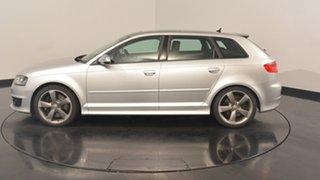 2012 Audi S3 8P MY12 Sportback S tronic quattro Silver 6 Speed Sports Automatic Dual Clutch.