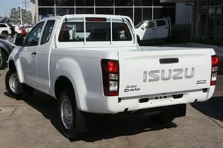 2019 Isuzu D-MAX MY19 SX Space Cab Splash White 6 Speed Manual Cab Chassis.