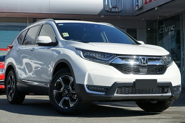 New Honda CR-V RW MY19 VTi-LX 4WD, 2018 Honda CR-V RW MY19 VTi-LX 4WD White Orchid 1 Speed Constant Variable Wagon