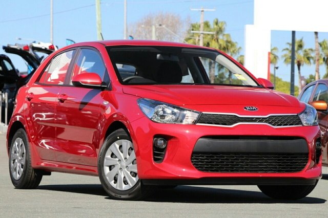 New Kia Rio YB MY18 S, 2018 Kia Rio YB MY18 S Signal Red 4 Speed Sports Automatic Hatchback