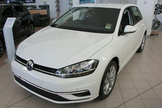 2018 Volkswagen Golf 7.5 MY18 110TSI DSG Comfortline Pure White 7 Speed Sports Automatic Dual Clutch