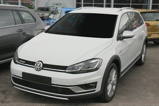 2018 Volkswagen Golf 7.5 MY18 Alltrack DSG 4MOTION 135TDI Premium Pure White 7 Speed.