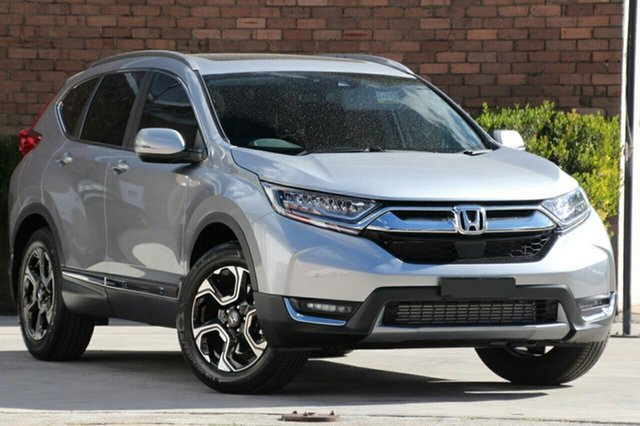 New Honda CR-V RW MY19 VTi-LX 4WD, 2019 Honda CR-V RW MY19 VTi-LX 4WD Lunar Silver 1 Speed Constant Variable Wagon