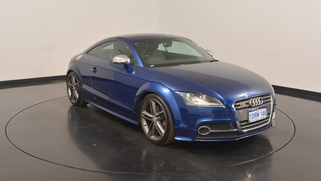 Used Audi TT 8J MY11 S S tronic quattro, 2011 Audi TT 8J MY11 S S tronic quattro Blue 6 Speed Sports Automatic Dual Clutch Coupe