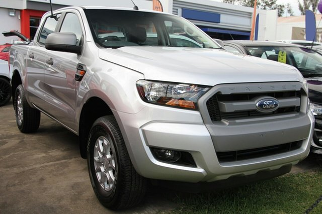 New Ford Ranger PX MkII MY18 XLS Double Cab, 2017 Ford Ranger PX MkII MY18 XLS Double Cab Ingot Silver 6 Speed Sports Automatic Utility