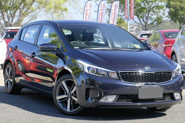 New Kia Cerato YD MY18 Sport, 2018 Kia Cerato YD MY18 Sport Gravity Blue 6 Speed Sports Automatic Hatchback