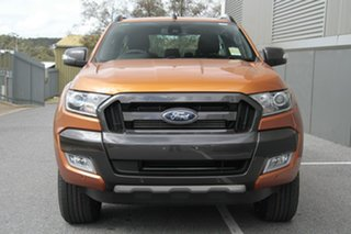 2018 Ford Ranger PX MkII MY18 Wildtrak Double Cab Pride Orange 6 Speed Sports Automatic Utility