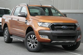 2018 Ford Ranger PX MkII MY18 Wildtrak Double Cab Pride Orange 6 Speed Sports Automatic Utility.