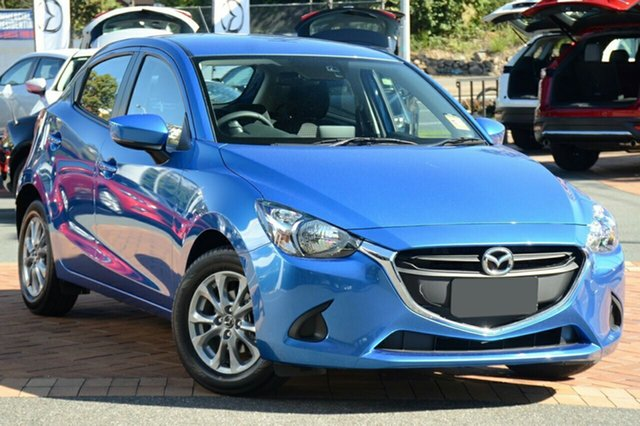 New Mazda 2 DJ2HAA Maxx SKYACTIV-Drive, 2019 Mazda 2 DJ2HAA Maxx SKYACTIV-Drive Dynamic Blue 6 Speed Sports Automatic Hatchback