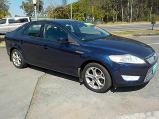 2007 Ford Mondeo MA Zetec Blue 6 Speed Automatic Sedan