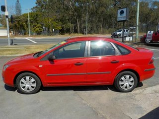 2006 Ford Focus LS CL Red 4 Speed Automatic Sedan