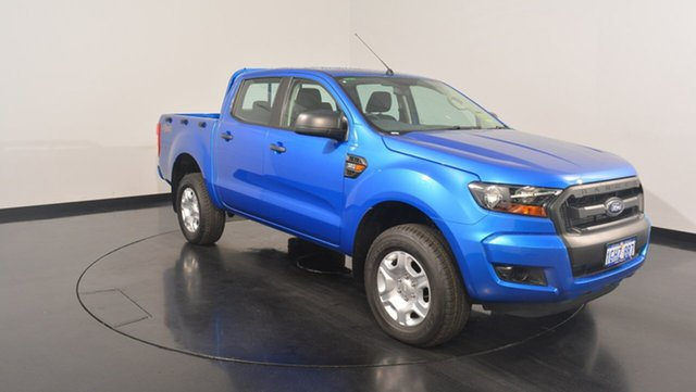 Used Ford Ranger PX MkII XL Double Cab, 2017 Ford Ranger PX MkII XL Double Cab Winning Blue 6 Speed Manual Utility