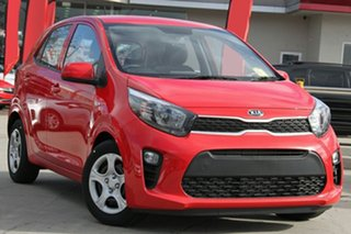 2020 Kia Picanto JA MY20 S Signal Red 4 Speed Automatic Hatchback.