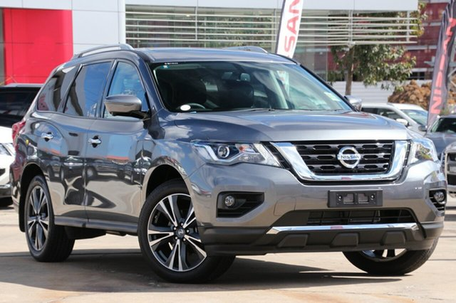 New Nissan Pathfinder R52 Series III MY19 Ti X-tronic 2WD, 2018 Nissan Pathfinder R52 Series III MY19 Ti X-tronic 2WD Gun Metallic 1 Speed Constant Variable