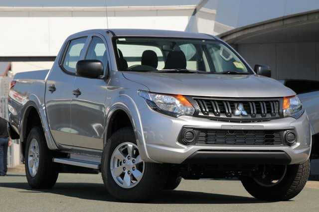 New Mitsubishi Triton MQ MY18 GLX+ Double Cab, 2018 Mitsubishi Triton MQ MY18 GLX+ Double Cab Sterling Silver 5 Speed Sports Automatic Utility