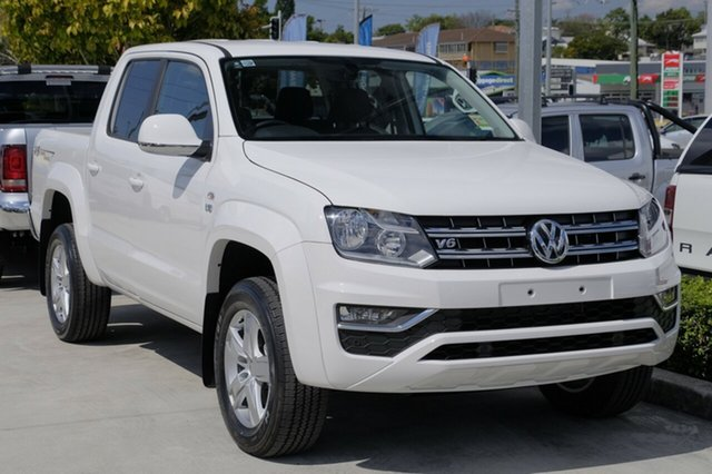 New Volkswagen Amarok 2H MY19 TDI550 4MOTION Perm Sportline, 2019 Volkswagen Amarok 2H MY19 TDI550 4MOTION Perm Sportline Candy White 8 Speed Automatic Utility