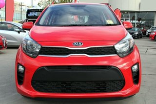2020 Kia Picanto JA MY20 S Signal Red 4 Speed Automatic Hatchback