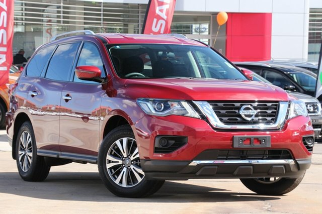 New Nissan Pathfinder  ST X-tronic 2WD, 2018 Nissan Pathfinder R52 SERIES II M ST X-tronic 2WD Red 1 Speed Constant Variable Wagon