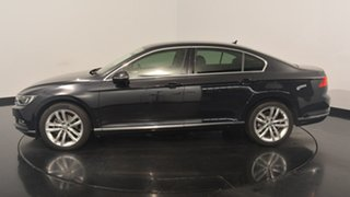 2016 Volkswagen Passat 3C (B8) MY16 140TDI DSG Highline Deep Black Pearl 6 Speed.
