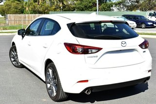 2018 Mazda 3 BN5438 SP25 SKYACTIV-Drive Astina White Pearl 6 Speed Sports Automatic Hatchback.